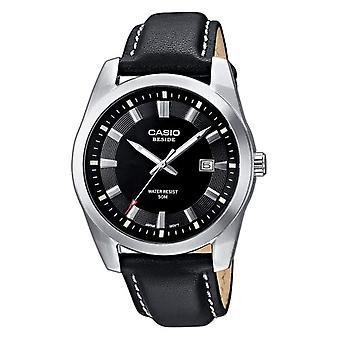Montre CASIO Analogueico montre quartz avec cuir BEM-116 l-1AVEF