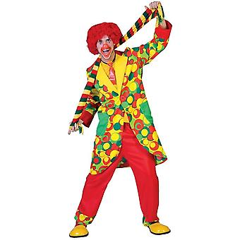 Amazing Clown Adult Costume