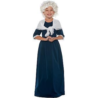 Martha Washington Child Costume