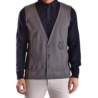 Frankie Morello Ezbc167052 Men's Blue Wool Vest