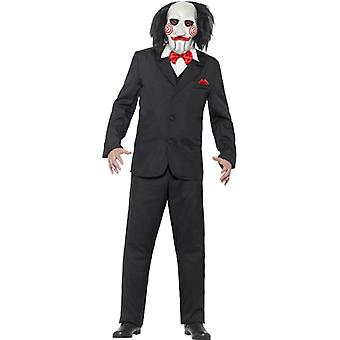 Jigsaw saw kostuum mens licentie kostuum Sawkostüm