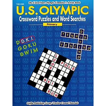 US Olympic Crossword Puzzles and Word Searches - Primary by Cynthia Ho