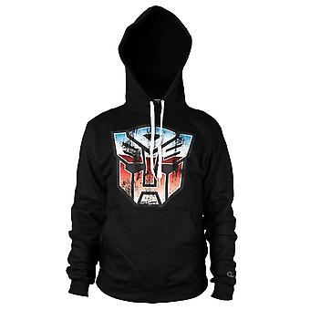 Distressed Transformers Autobot Shield Hoodie