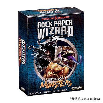 El paquete de expansión de Rock Paper Wizard Fistful of Monsters