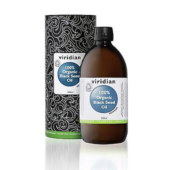 Viridian 100٪ العضوية زيت البذور السوداء 500ml (521)
