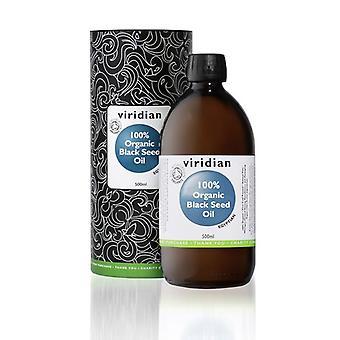 Viridian 100% Organic Black Seed Oil 500ml (521)