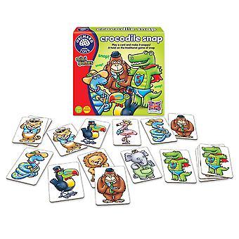 Orchard Toys 356 pelata korttia ja tehdä siitä reipas krokotiili Snap peli