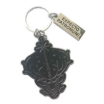 מחזיק מפתחות של הארי פוטר מחזיקי מפתחות מטאל פטרונום הרשמי החדש