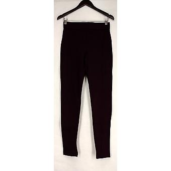Slimming Options for Kate & Mallory Leggings Knit Solid Red Womens A429903