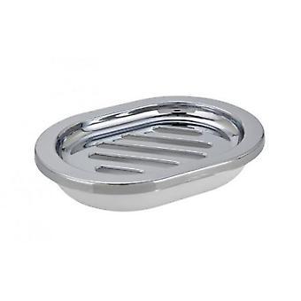 Wenko såpe parabolen vercelli chrome (baderomsutstyr, såpeskål og dispensere)