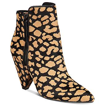 Kenneth Cole New York Womens Galway Calf Hair Pointed Toe Ankle Fashion Boots