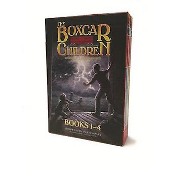 The Boxcar Children Mysteries Boxed Set #1-4 by Gertrude Chandler War