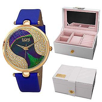 Burgi Clock Woman Ref. BUR131BU-KITGB102