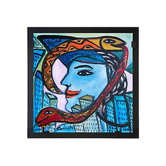 Glass vision-painting-art glass-out in the world Ulrica Hydman Vallien
