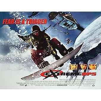 Affiche de cinéma extreme Ops Original