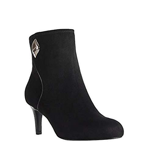 Impo Womens Norrah Fabric Almond Toe Ankle Fashion Boots EpWel