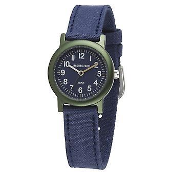 JACQUES FAREL Eco Kids Wristwatch Analog Quartz Boys ORG 0304 Blue