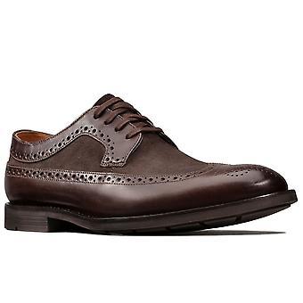 Clarks Ronnie Limit Herren Smart Lace Up Schuhe