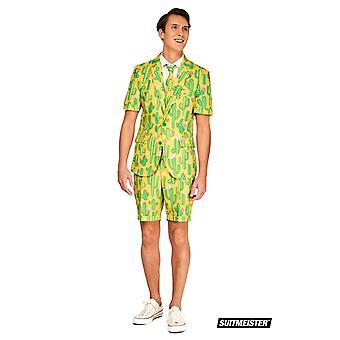Cactus Sunshine Mexico zomer pak met shorts Suitmaster Slimline Economy 3-delige