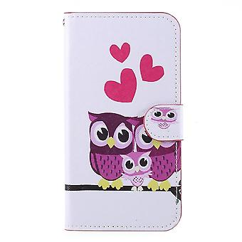iPhone 11 Plånboksfodral - Hearts and Owls