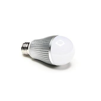 Led bulb E27 RF white 2700K - 6000K 6 W radio 180°