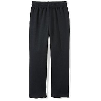 Starter Boys' Open-Bottom Sweatpants with Pockets,  Exclusive, Black, S...