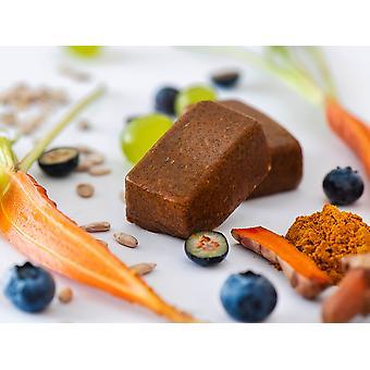 Swiss-QUBE Diet Bar - Kontrola wagi | Schudnąć bez głodu na podstawie naturalnej | Smak oryginalny | 70 Swiss-Qubes - Cotygodniowa racja