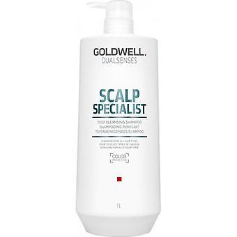 Goldwell dualsenses couro cabeludo especialista em limpeza profunda shampoo 1000ml