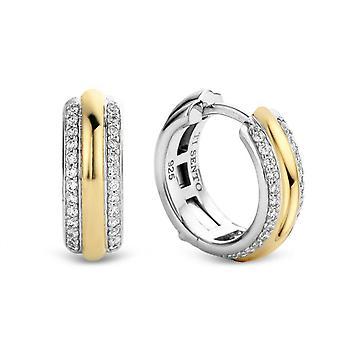 Earrings Ti Sento 7786ZY - earrings silver Gaudron Dor and rings s Pav
