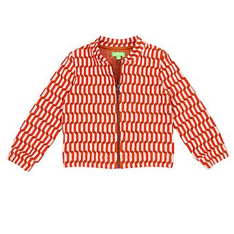 Lily Balou Jools Bomber Blocks Red