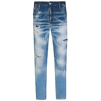 Dsquared2 DSquared2 Distressed Cool Guy Jeans