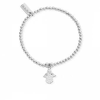 ChloBo SBCC822 женщины-апос;s Симпатичный Шарм Сделано для ангела браслет
