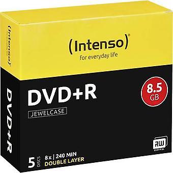 Intenso 4311245 Blank DVD+R DL 8.5 GB 5 pc(s) Jewel case