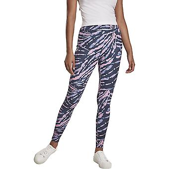 Urban Classics Ladies - High Waist Tie Dye Stretch Leggings