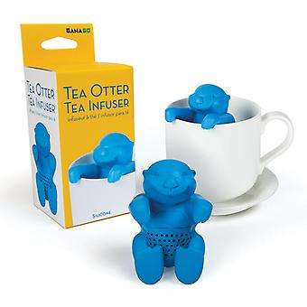Tea otter tea infuser - blue