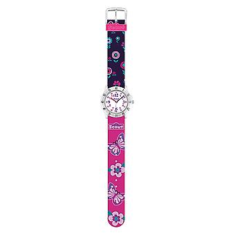 Scout Kids Watch Learning Watch Action Girls - BLUEBERRY pink girls 280378014