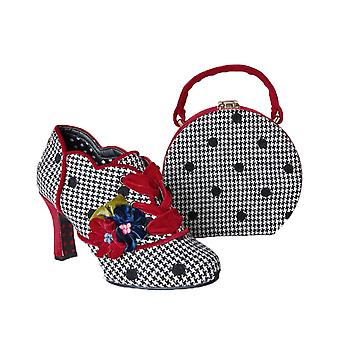 Joe Browns Couture Women's Checked Lorelai Booties & Matching Bag