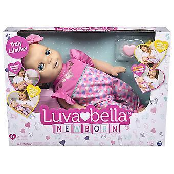 Luvabella 6047317 حديث الولادة شقراء الشعر، دمية الطفل التفاعلية