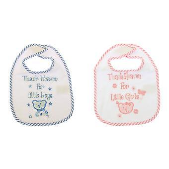 Baby Animals Design Bib With -Girl/Boy Options