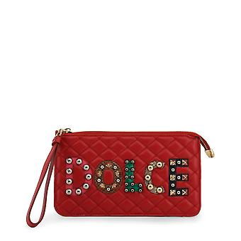 Dolce & Gabbana original mujeres todo el año embrague bolsa - color rojo 34504