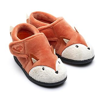 Chipmunks mr rust fox slippers