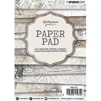 Studio Light Paper Pad A6 36 Sheets 12 Designs Number 122