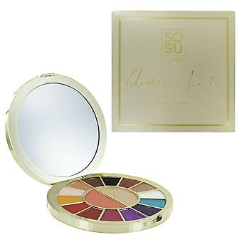 SOSUbySJ X Aideen Kate Face & Eye Palette Compact