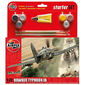 Airfix A55208 1:72 Scară Hawker Typhoon Ib Starter Set Model Kit