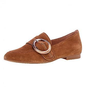 غابور فيولا الذكية أحذية من جلد الغزال في كونياك