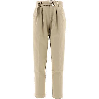 P.a.r.o.s.h. D230396c004 Women's Beige Cotton Pants