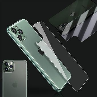 0,26 mm H9 2.5D Hart Glas Rückseite Back Cover für Apple iPhone 11 Pro 5.8  Folie Neu