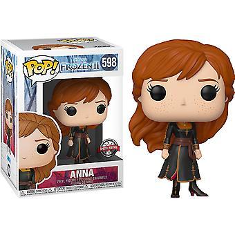 Frozen II Anna Travel US Exclusive Pop! Vinil