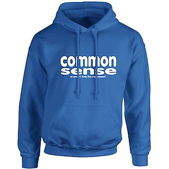Common Sense Is A Superpower Unisex Hoodie 10 Colours (S-5XL) by swagwear