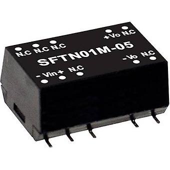 يعني جيدا SFTN01N-12 DC / DC محول (وحدة) 84 mA 1 W لا. من النواتج: 1 x